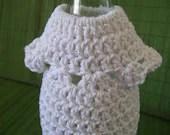 Crocheted Wine Bottle Dress