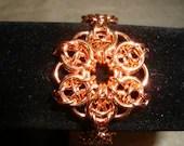 Copper Celtic Star Bracelet 61/2 inches long.