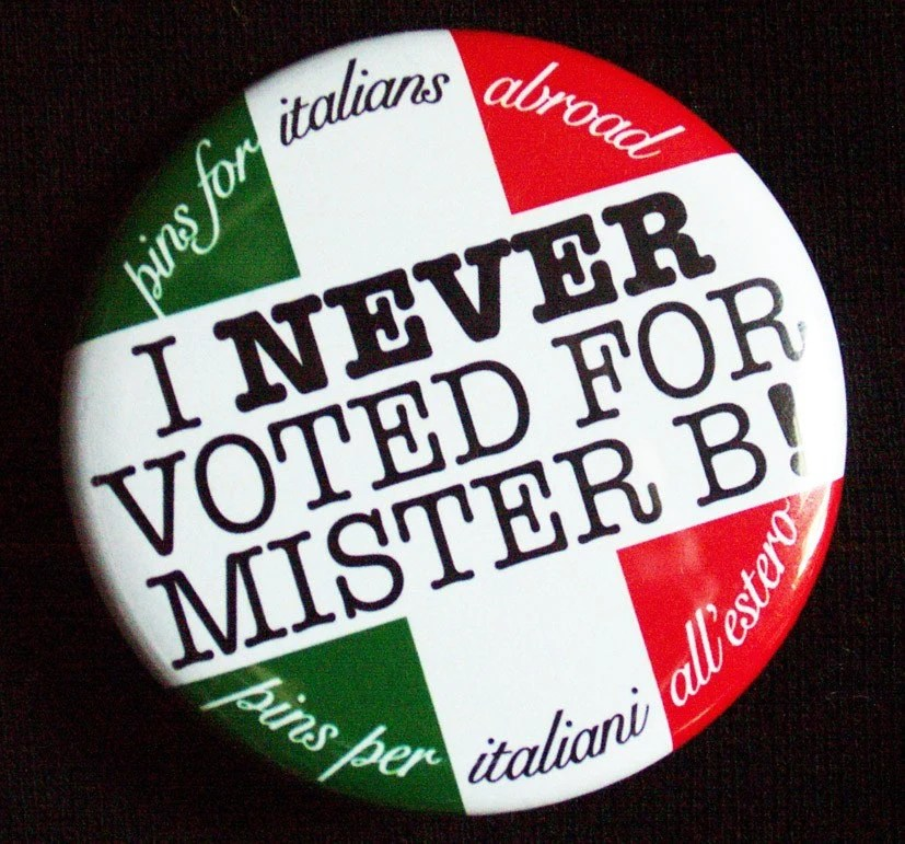 Pins For Italians Abroad