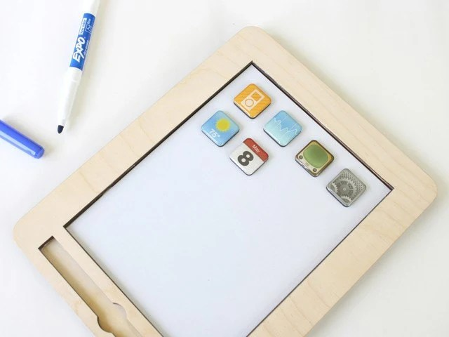 anaPad - children's wooden creative tablet
