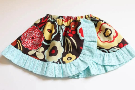 Janie Curved Skirt Boutique Style PDF Sewing Pattern Includes Sizes Newborn up  to 14