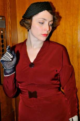 Myrna- Early 1930s inspired afternoon dress