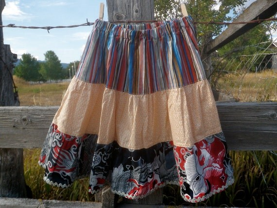Gladys- girls skirt, size 7-9