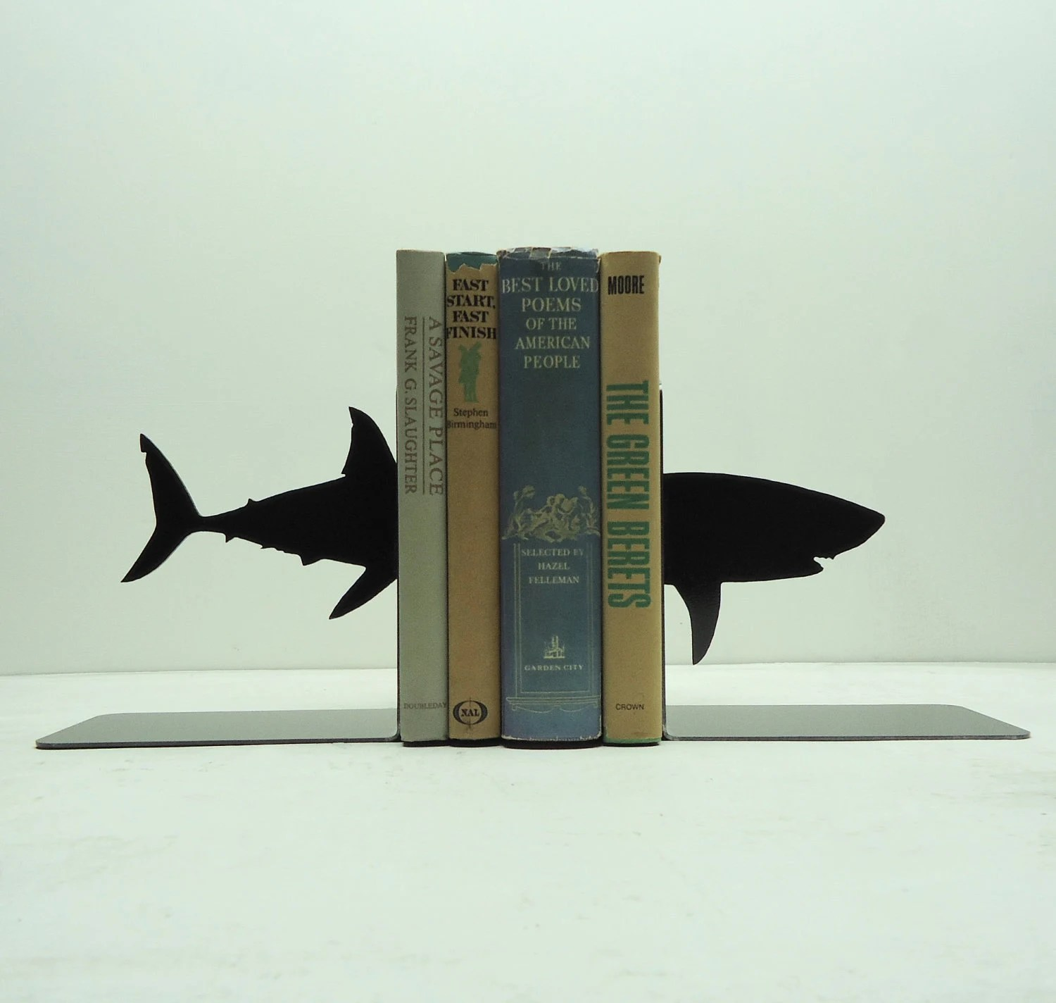 Shark Bookends - Free USA Shipping