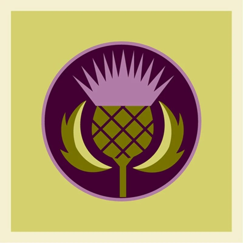 Thistle Giclee print