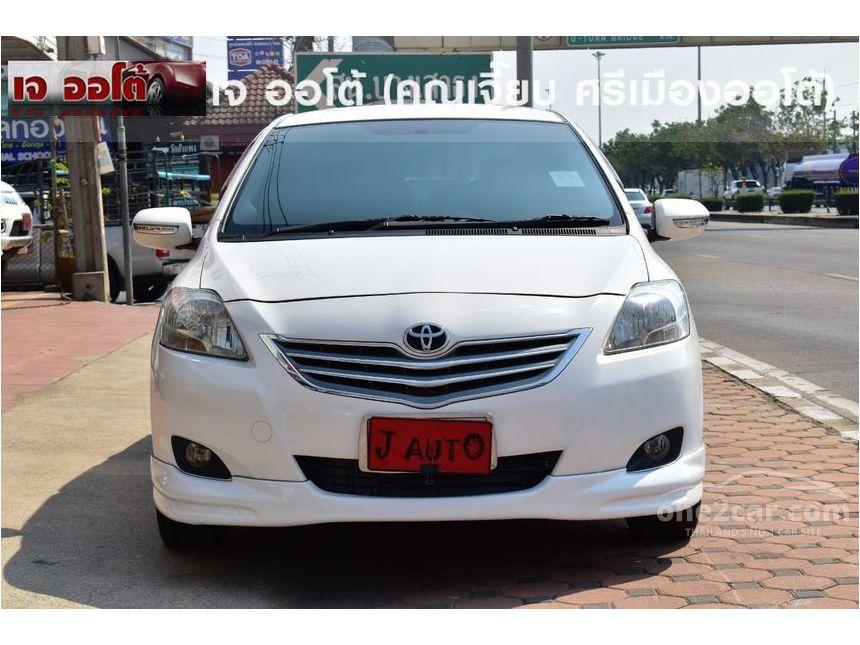 Toyota Vios 2010 ปี 07 13 J 1 5 เกียร์อัตโนมัติ สีขาว