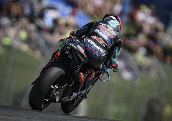 MotoGP 2019. Quartararo è il più veloce nelle FP2 di Barcellona