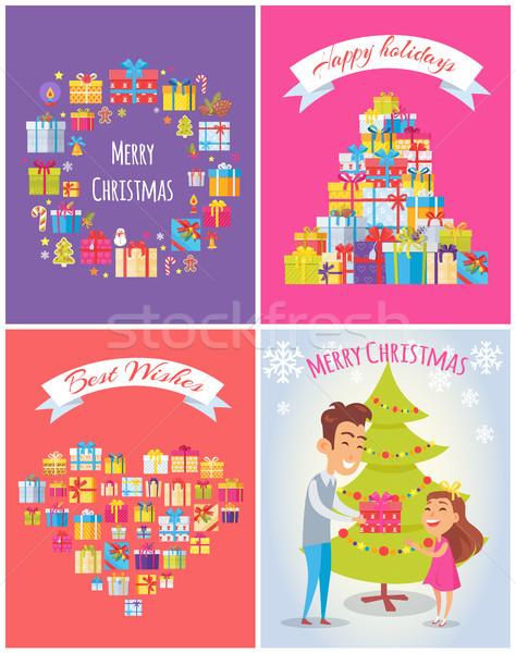 Happy Birthday Merry Christmas Vector Illustration Vector Illustration C Robuart 8929329 Stockfresh