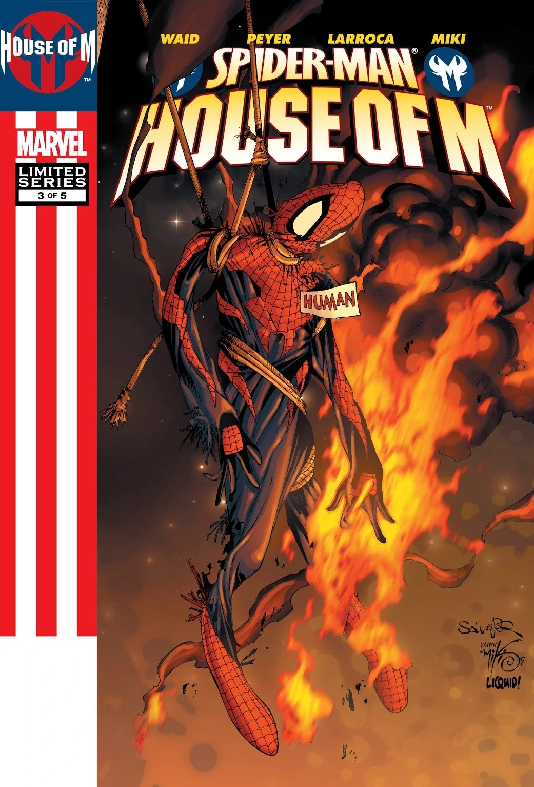 Spider Man House Of M Vol 1 3 Marvel Database Wikia