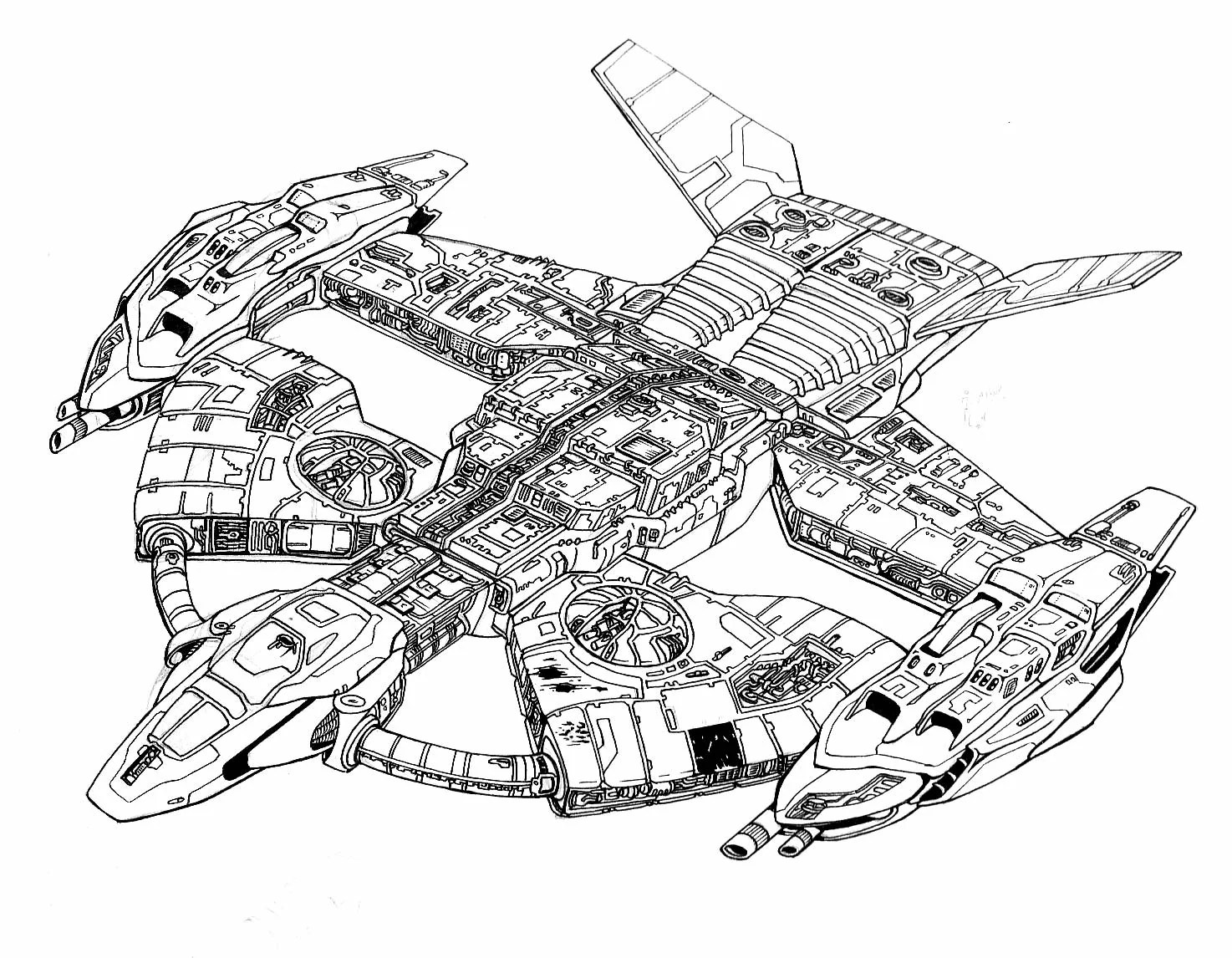 star wars coloring pages ships cooloring com
