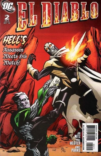 El Diablo Vol 3 2 DC Comics Database