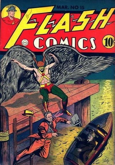 Flash Comics Vol 1 15 DC Database Wikia