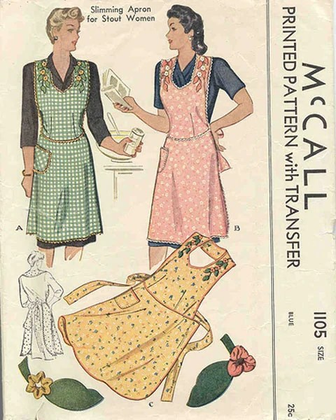Mccall 1105 Vintage Sewing Patterns