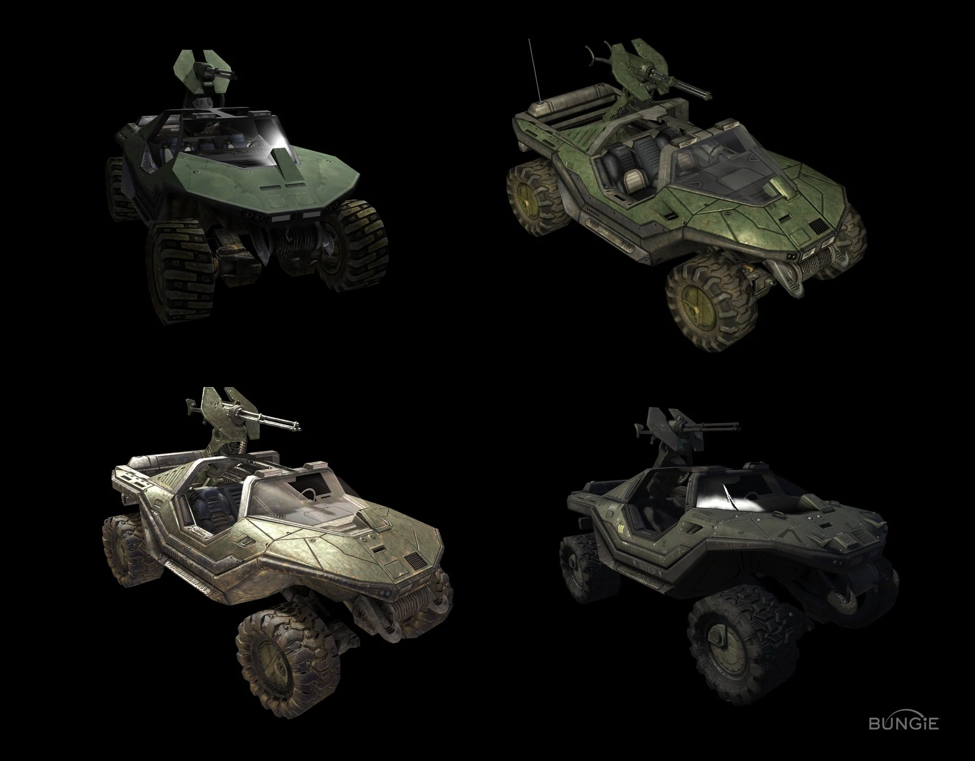 1 Weapons Vehicles Halo And