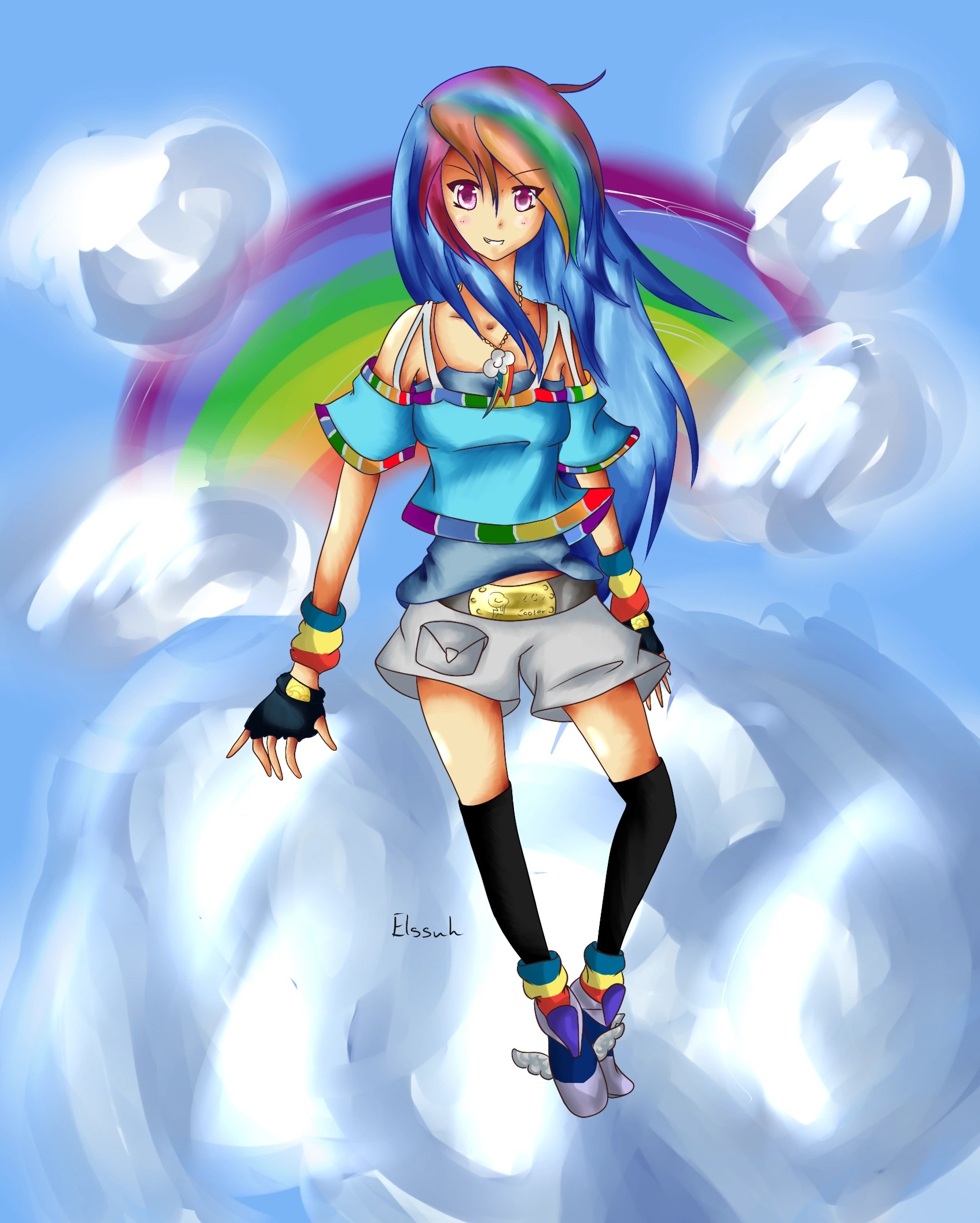 image rainbow dash human form png my little pony fan labor wiki