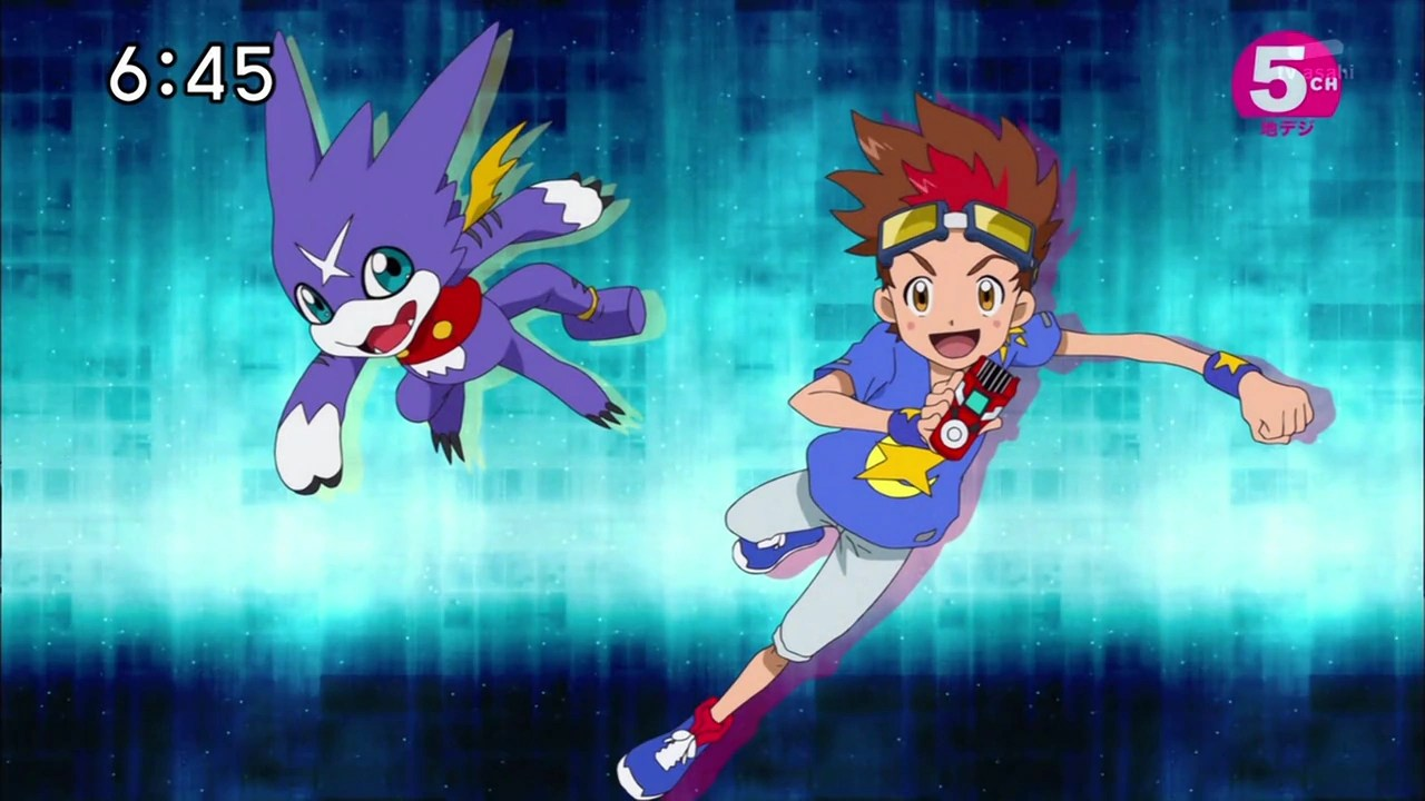 Digimon Fusion Gumdramon