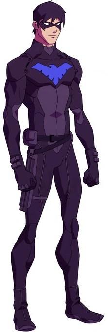 50+] Young Justice Nightwing Wallpaper on WallpaperSafari | 679x222