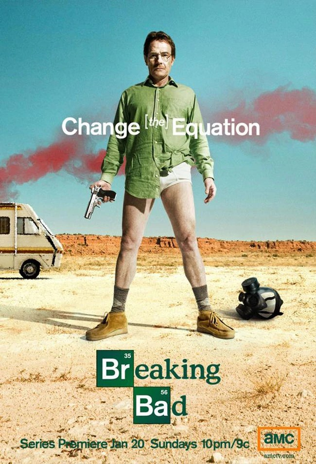 Promo for the first season of Breaking Bad