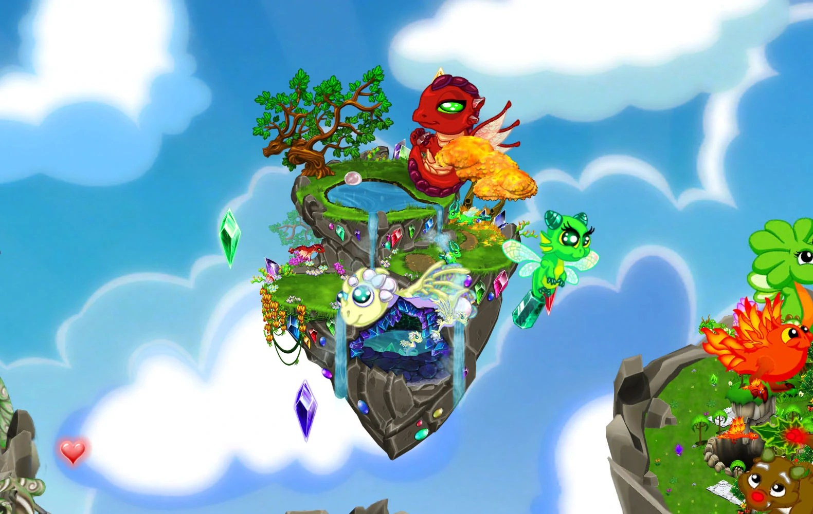 Image Huge Gemstone Babiesjpg DragonVale Wiki