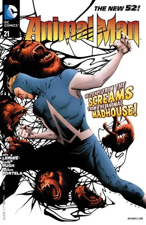 Cover for Animal Man #21 (2013)