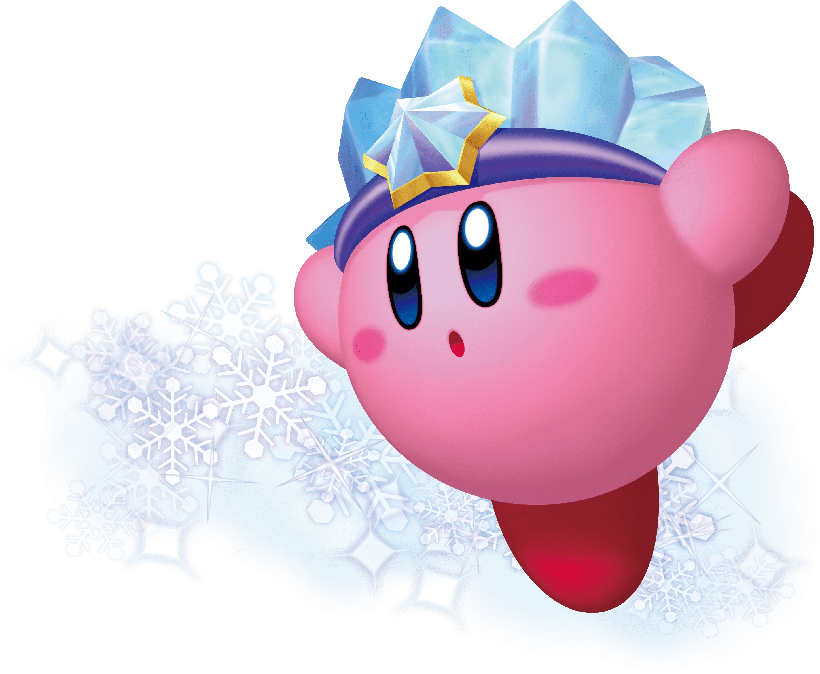 ninja kirby coloring pages ice kirby wiki the kirby