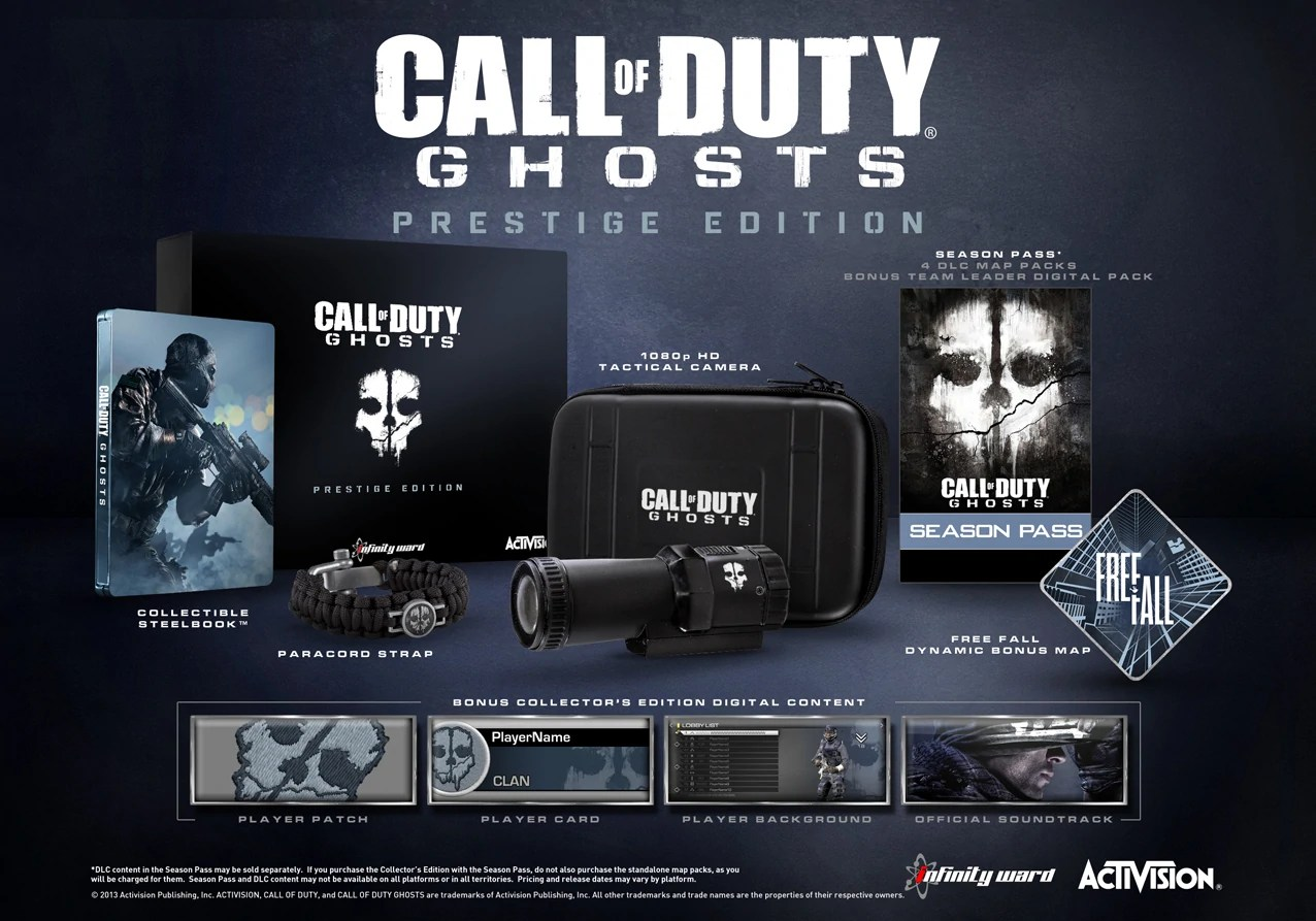 Ghosts Prestige Edition