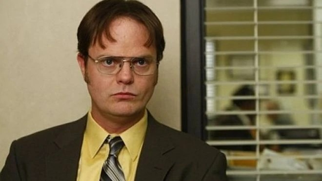 Dwight Schrute the office sales superstar