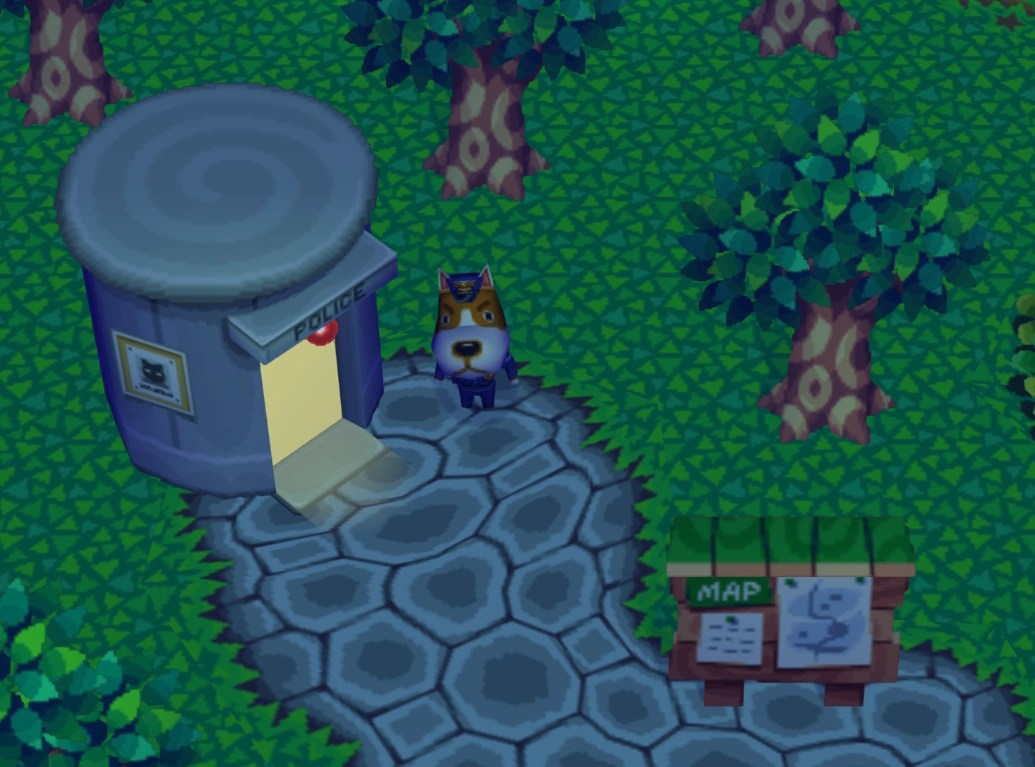 Police Station Animal Crossing Wiki
