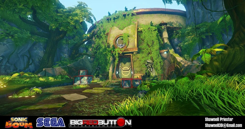 Screenshots of Sonic Boom: Rise of Lyric in beta