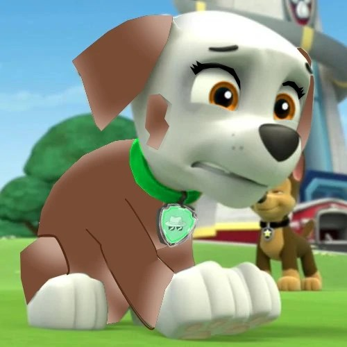 and chase paw patrol marshall