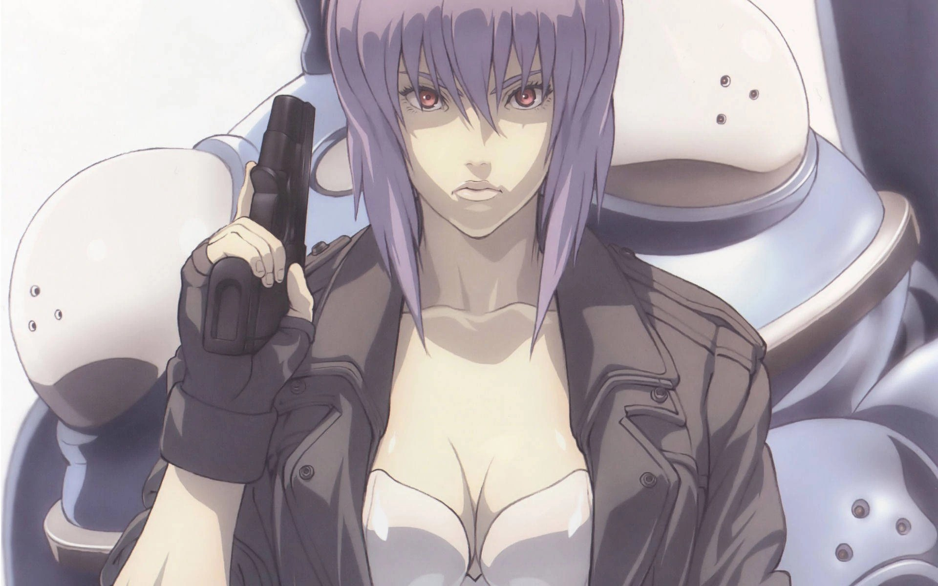 Motoko Kurasangi Ghost in the Shell Bad ass