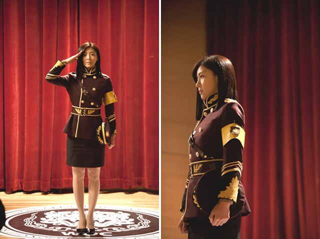 King 2 Hearts Ha Ji Won Salutes While In Uniform UPDATED Couch Kimchi