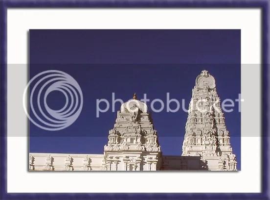 Balaji temple in Atlanta pic by Arun Shanbhag