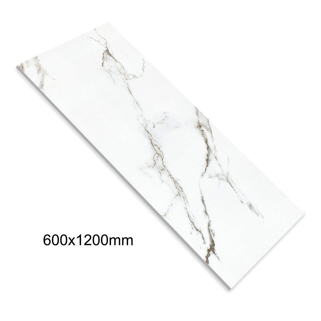 white diamond marble full body tile