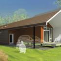 Casa projetada por Pendulum Studio. Cortesia de Make It Right
