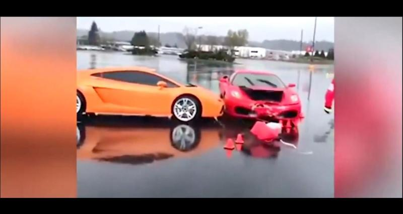 When A Ferrari Crashes A Lamborghini It Costs A Lot In Insurance World Today News