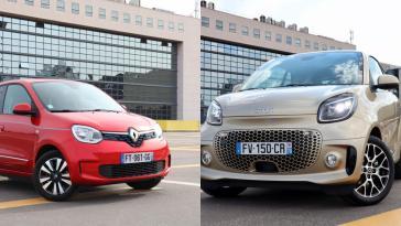 Renault Twingo Electric vs Smart EQ Fortwo : match électrique