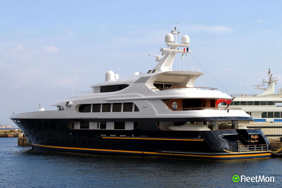 TANUSHA Yacht Ship Particulars And AIS Position IMO