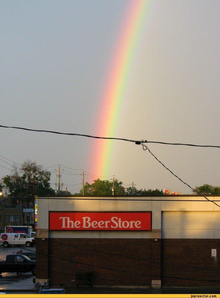 sandbox,rainbow,beer