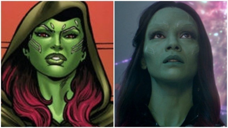 Image of: Gamora 2016 Gamora Pinterest How Guardians Of The Galaxy Characters Should Look