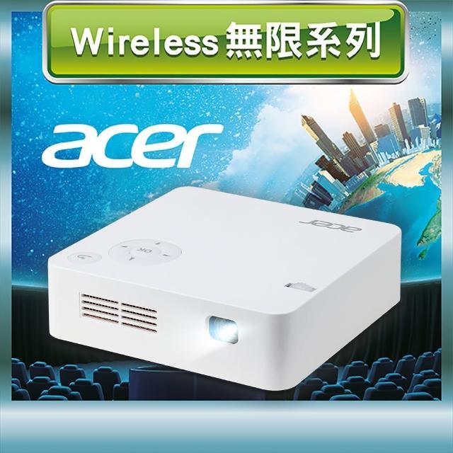【Acer 宏碁】C202i FWVGA微型LED無線投影機