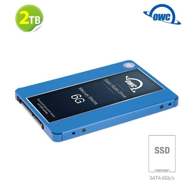 【OWC】Mercury Electra 6G SSD - 2TB(2.5吋 SATA 7mm SSD 固態硬碟)