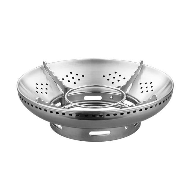 【PUSH!】廚房用品不銹鋼瓦斯爐防風罩聚火節能防風罩天燃氣爐支架(D205)