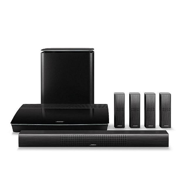 【美國 BOSE】Lifestyle 650 黑色款 無線 Sound bar 5.1聲道家庭娛樂音響組(平行輸入)