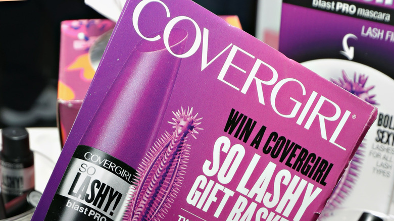 Covergirl makeup products