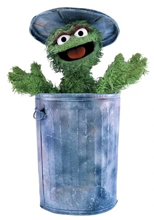 sesame street, oscar the grouch