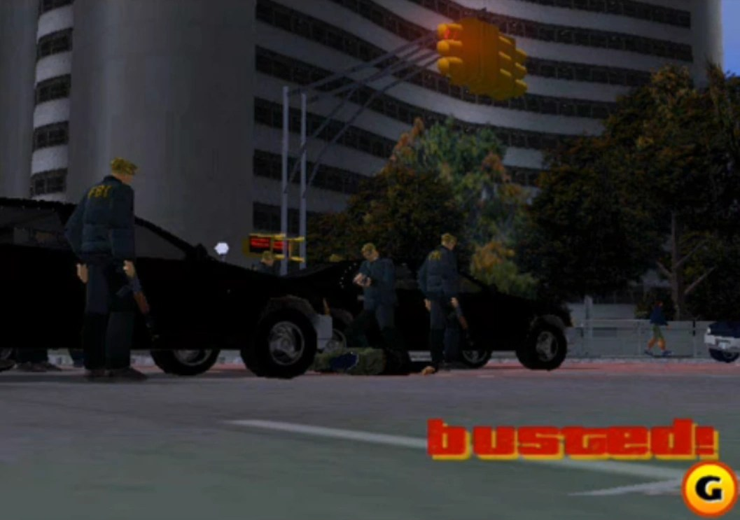Grand Theft Auto V Busted