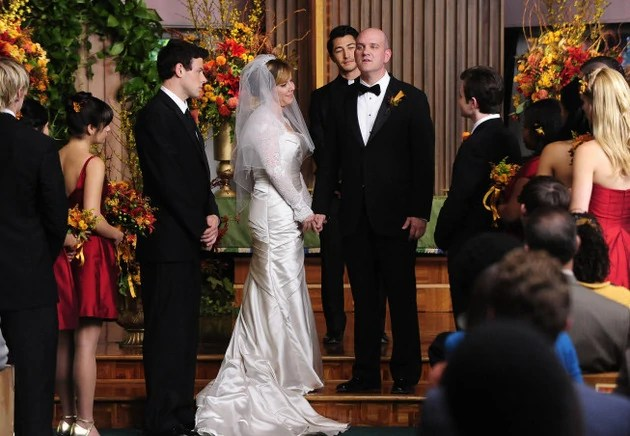Glee series finale wedding