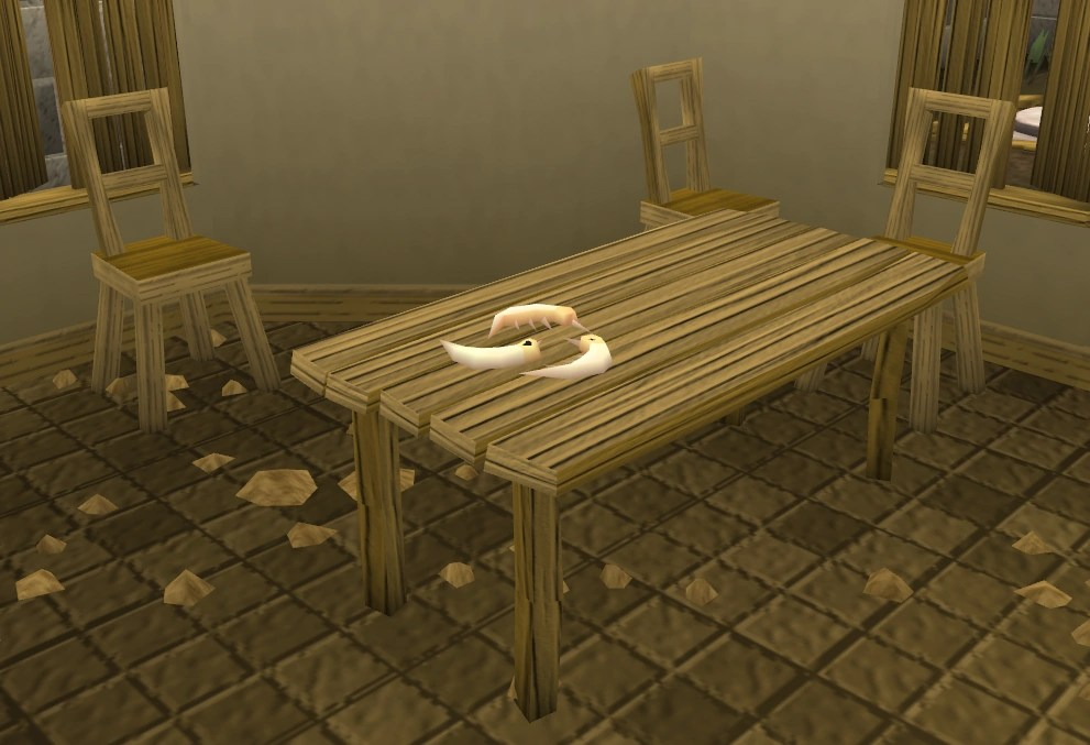 Teak Dining Table Runescape Carved Teak Bench The Runescape Wiki
