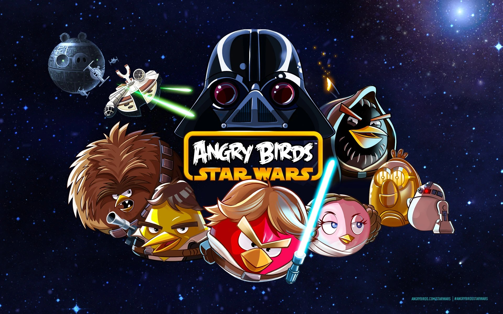Angry All Characters Wars Birds Star